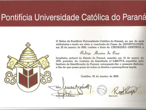 PUCPR Certificado