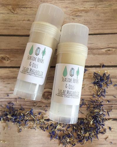 natural deodorant, probiotic deodorant, cream deodorant, vegan deodorant, baking soda deodorant