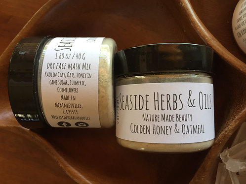 Golden Honey Turmeric Face Mask