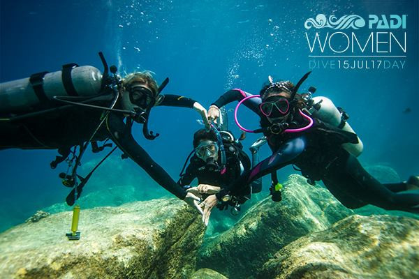PADI Ladies Dive Day. July 15. $50 only for Discover Scuba Dive