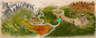 Forest Kingdom Map