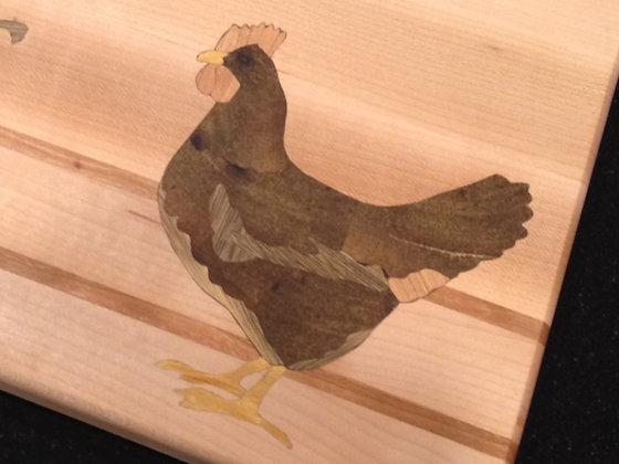 Chicken Inlay (board not included)