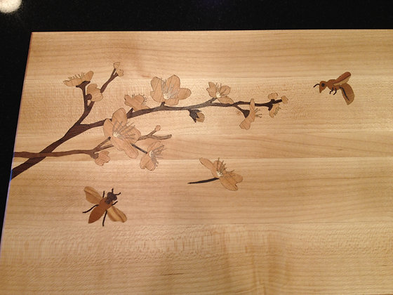Cherry Blossom Inlay (board not included)