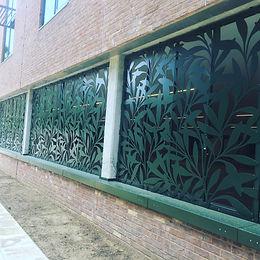 Balustrades and steel frames