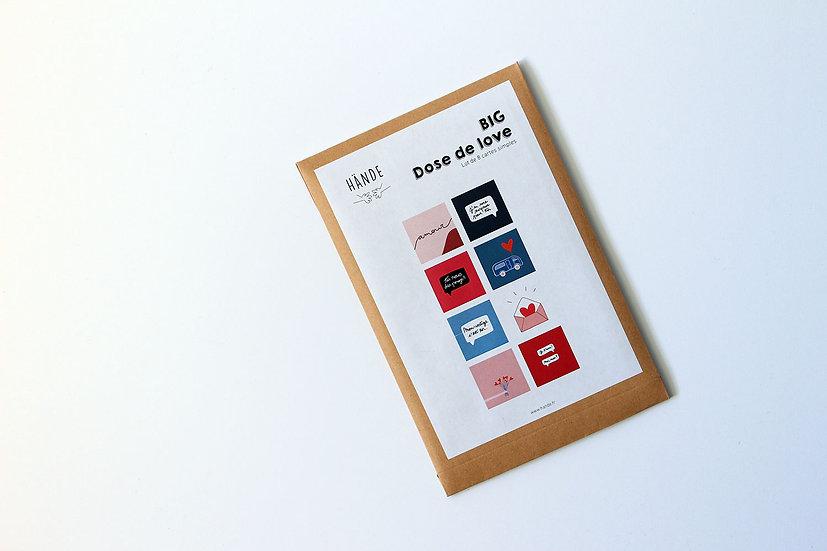 Pack petites affiches  - BIG dose de love