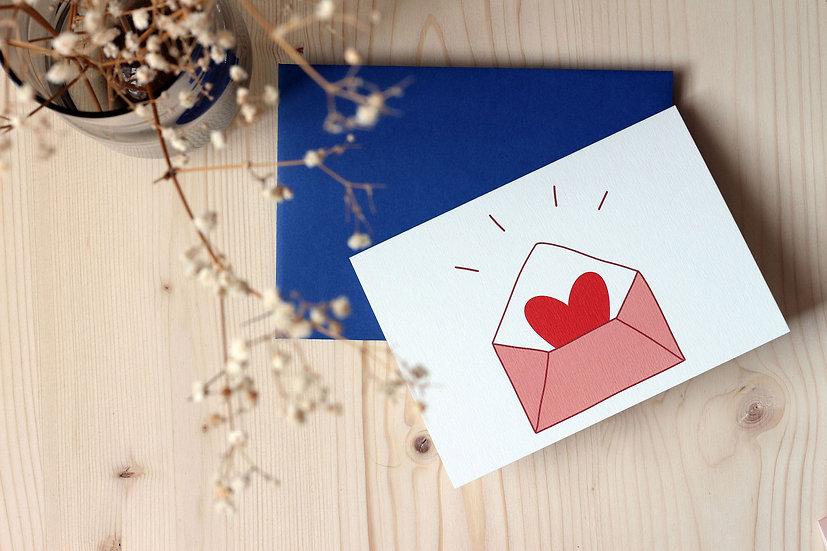 Carte double - Enveloppe