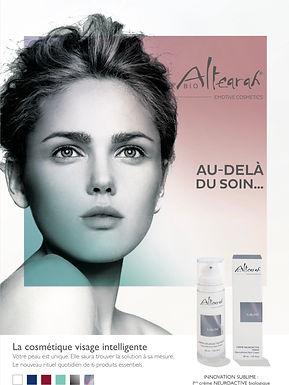Institut de beauté Aloé, Châtel-St-Denis, soins du vasage, produits Altearah BIO