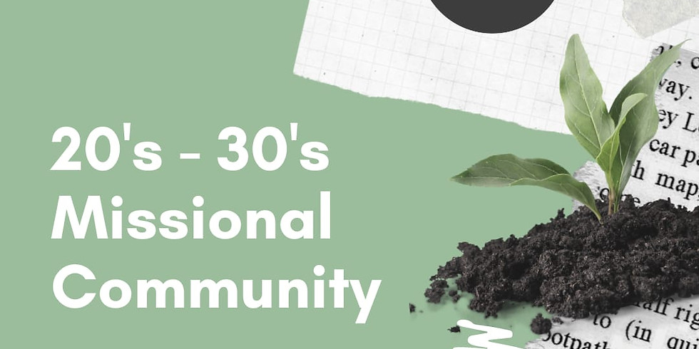 20s-30s Missional Community