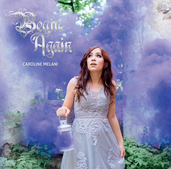 "CD Cover ""Begin Again"""