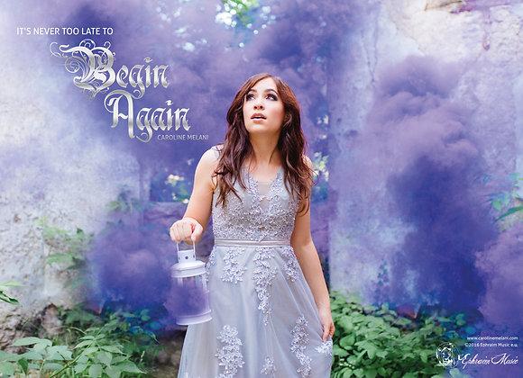 """Poster """"Begin Again"""""""