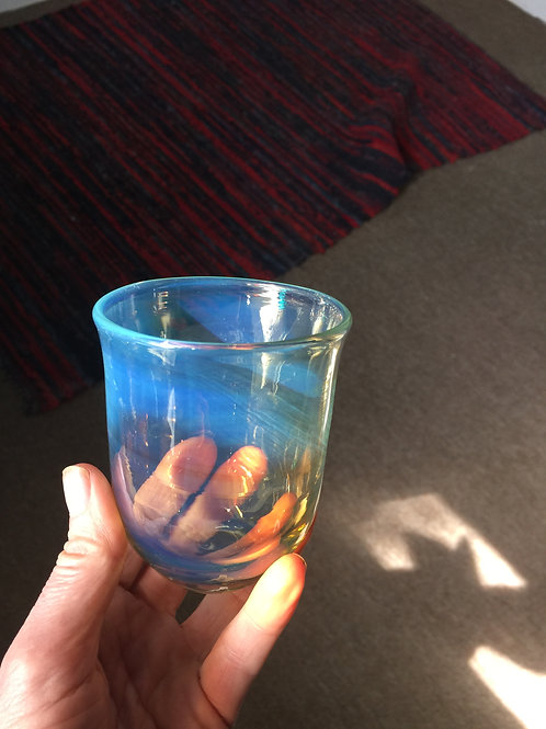 Hand Blown Drinking Glass