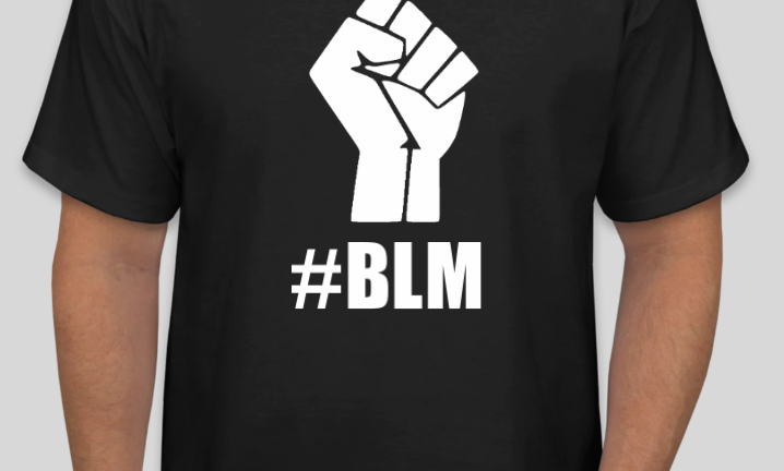 BLM Fist T Shirt