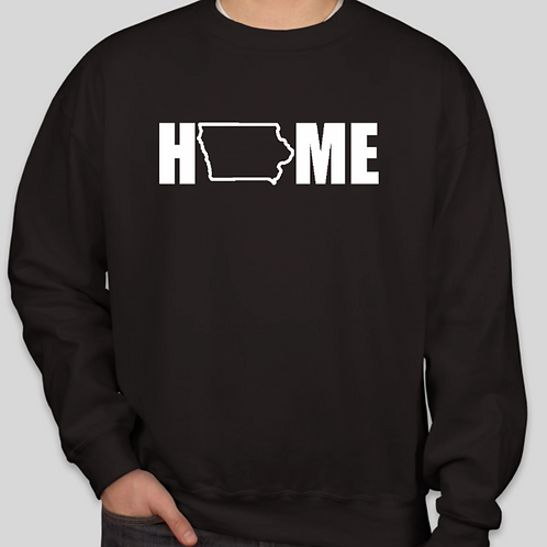 Iowa HOME Crew Neck
