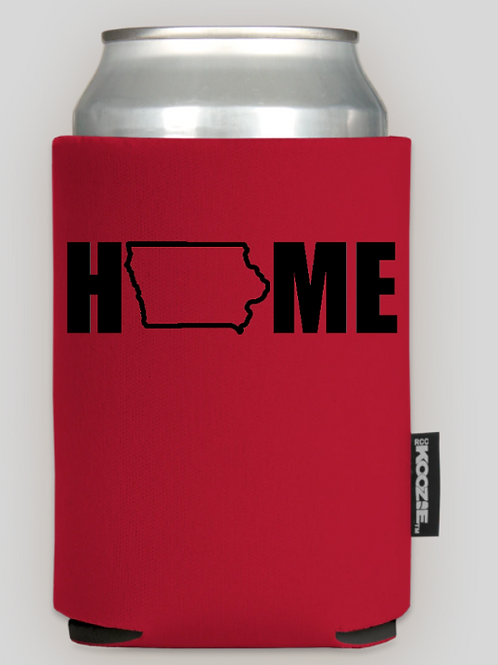 Iowa HOME Graphic Koozie (3 PACK)