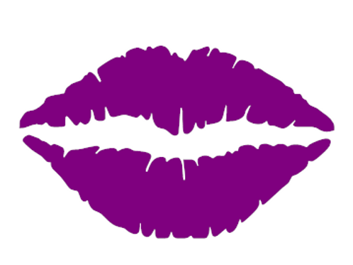 Christel Holland Lips Sticker