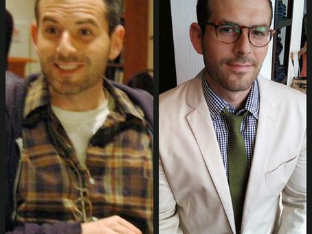 1/2 Oxford Professor + 1/2 Beastie Boy = Sprezzatura:  David's Style-Story