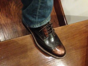 shoes w cuff