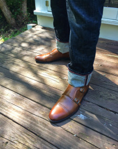 Monk Straps: Classy with a touch of dandy. And a touch of the best dressed Franciscan Friar in the abbey.