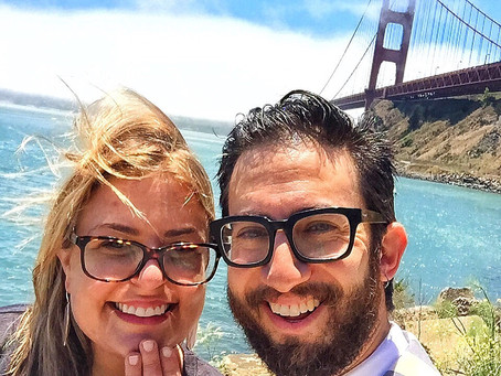 Blogging Back and Forth Forever: Getting Engaged, and 14 Days of Reflection