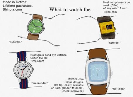 A good watch is not just a timepiece…it's a conversation piece.