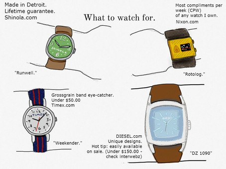 A good watch is not just a timepiece…it's a conversation piece.