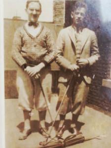"""Sepia Style: Grandpa """"Irv"""" Wolkenstein"""