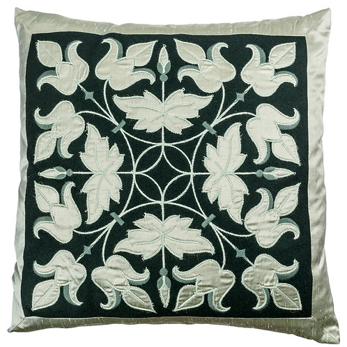 Wool and silk cushion - design 6003