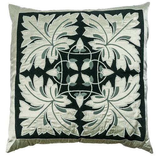 Wool and silk cushion - design 6002