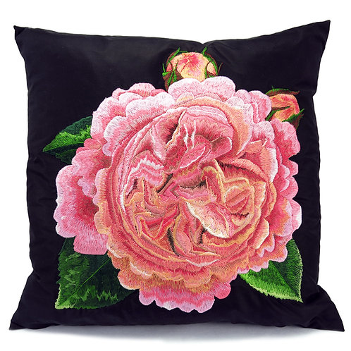Chippendale© rose cushion - design 6007 -2