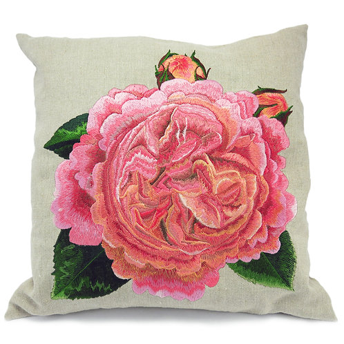 Chippendale© rose cushion - design 6007 - 1