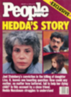 Hedda featured by on People Magazine - Photos by Donna Ferrato