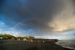Hope above New Lava Beach