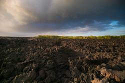 Gigantic Lava field /eruption 2018