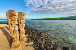 Place of refuge Pu'uhonua o Honaunau