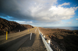 Road to New Lava Flow