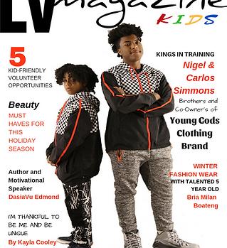 LV Magazine Kids December 2018 Cover (1)