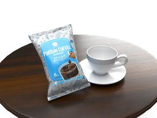 ポーションコーヒー袋デザイン