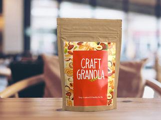 Organic nuts package