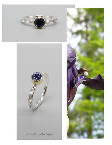 Iris Tanzanite ring