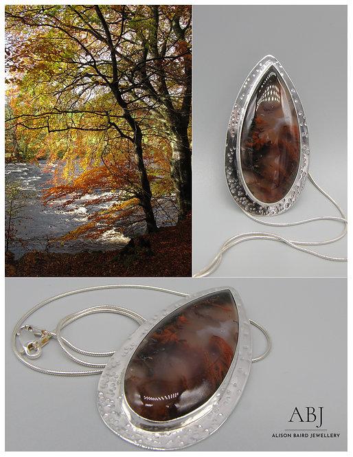 Autumn Flame pendant