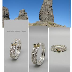 Isle of Skye Aquamarine ring