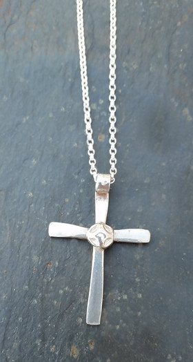 Silver Cross - Small