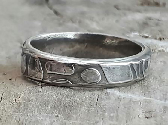 Wedding Ring made at MidasTouch Jewel Wedding Ring Workshop