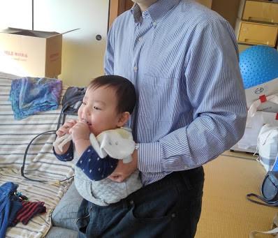 パパトレ5:成功ダイエット-乳児初期抱っこ運動 11/28加筆