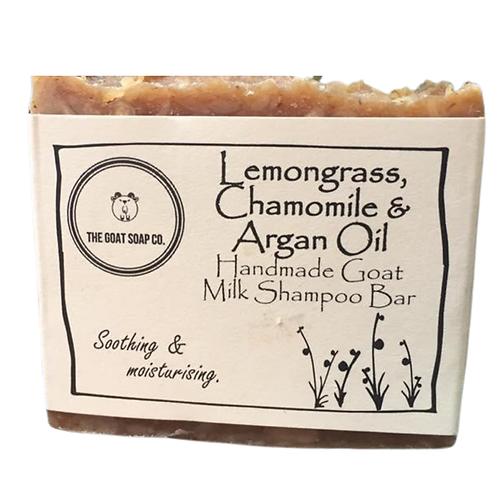 Lemongrass & Chamomile Goat Milk Shampoo Bar