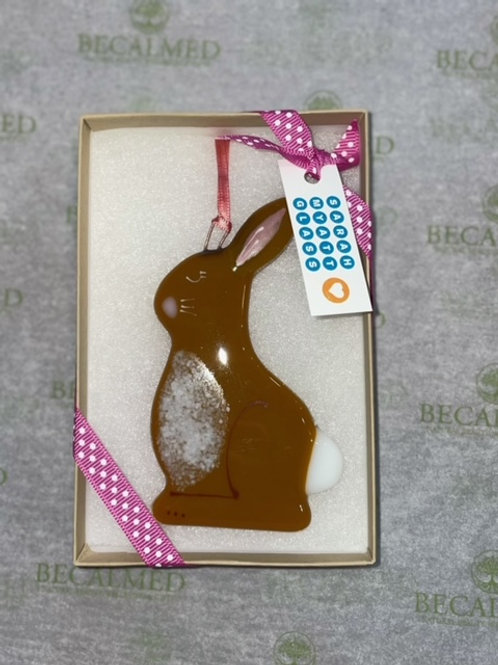 Fused Glass Bunny Rabbit