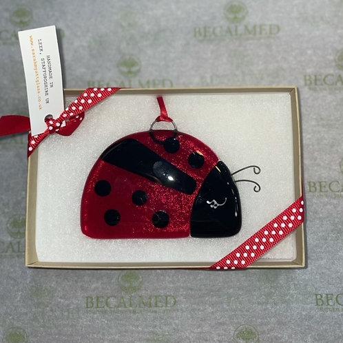 Fused Glass Ladybird
