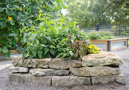 Stone Annual Planter