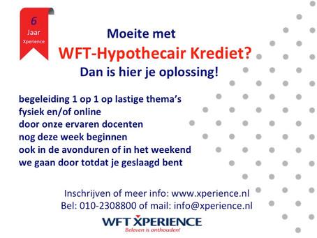 WFT Online geeft je net dat zetje!