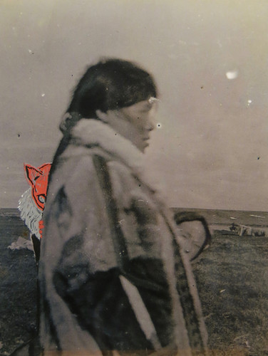 Doctored photograph from Czaplicka 1915 expedition